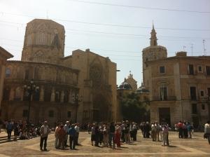 Basilica y Rear Catedral Valencia